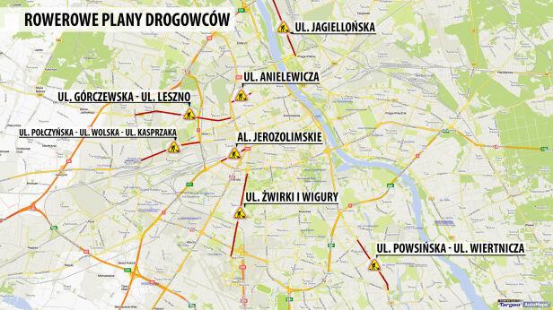 Tu powstaną ścieżki rowerowe targeo.pl