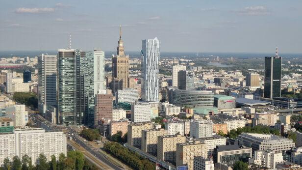 Panorama Warszawy. Zdjęcie ilustracyjne archiwum