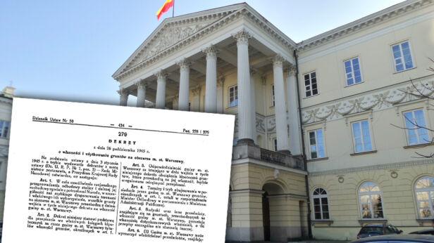 Będzie biała księga ws. reprywatyzacji tvnwarszawa.pl