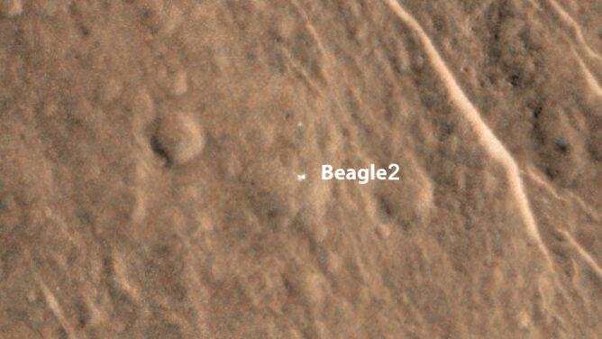 Szukali go 11 lat, a on... był na Marsie. Beagle 2 odnaleziony