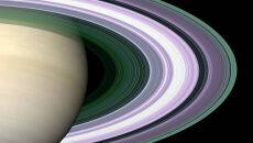Wizualizacja pierścieni Saturna