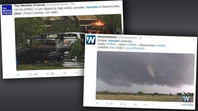 W powietrzu latały konary drzew i pojazdy. <br />Trwające minutę tornado na niesamowitym filmie