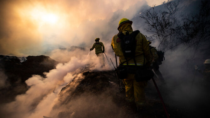 Pożary trawią okolice Los Angeles