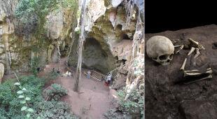 Najstarszy znany grób człowieka w Afryce