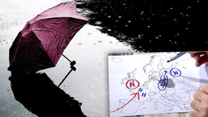 Pogoda w Polsce jest stabilna dzięki wyżowi. Niż nad Anglią powoduje ulewy