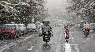 Śnieg w Teheranie