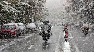 Śnieg w Teheranie. Zamknięte szkoły, paraliż komunikacyjny