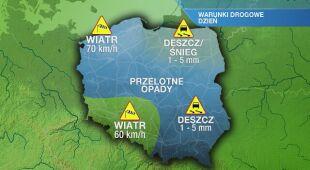 Warunki drogowe we wtorek 18.02